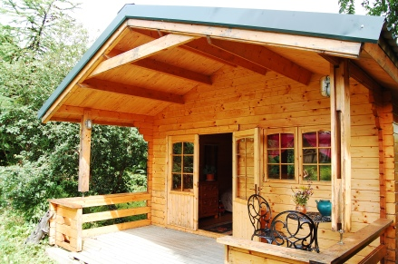Stay in any of our free-standing chalets.