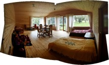 Large new chalet.