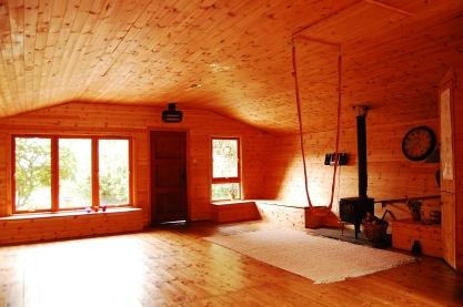 The Yoga Chalet.